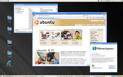 ITComparison Ubuntu vs MS Windows Vista